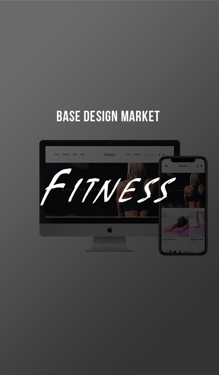 FITNESS - BASE DESIGN MARKET