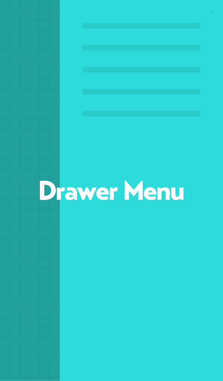 Drawer Menu